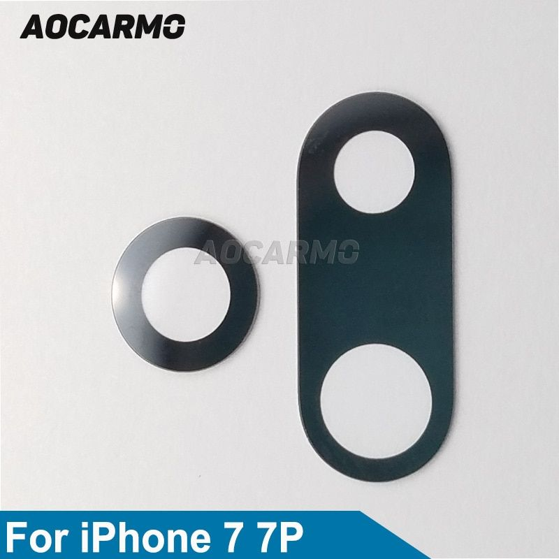 Aocarmo oem rear back camera glass lens replacement for
