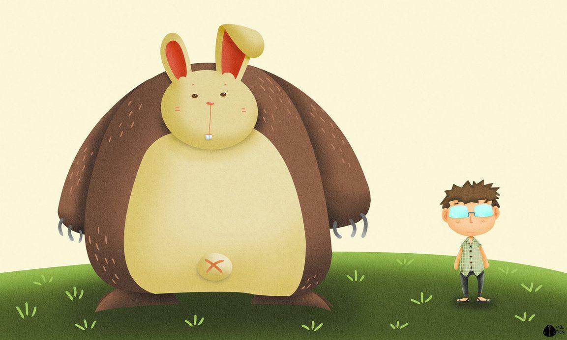 Bunny monster n me