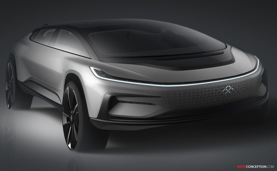 2017 Faraday Future Ff 91 Faraday Future Electric Car Design