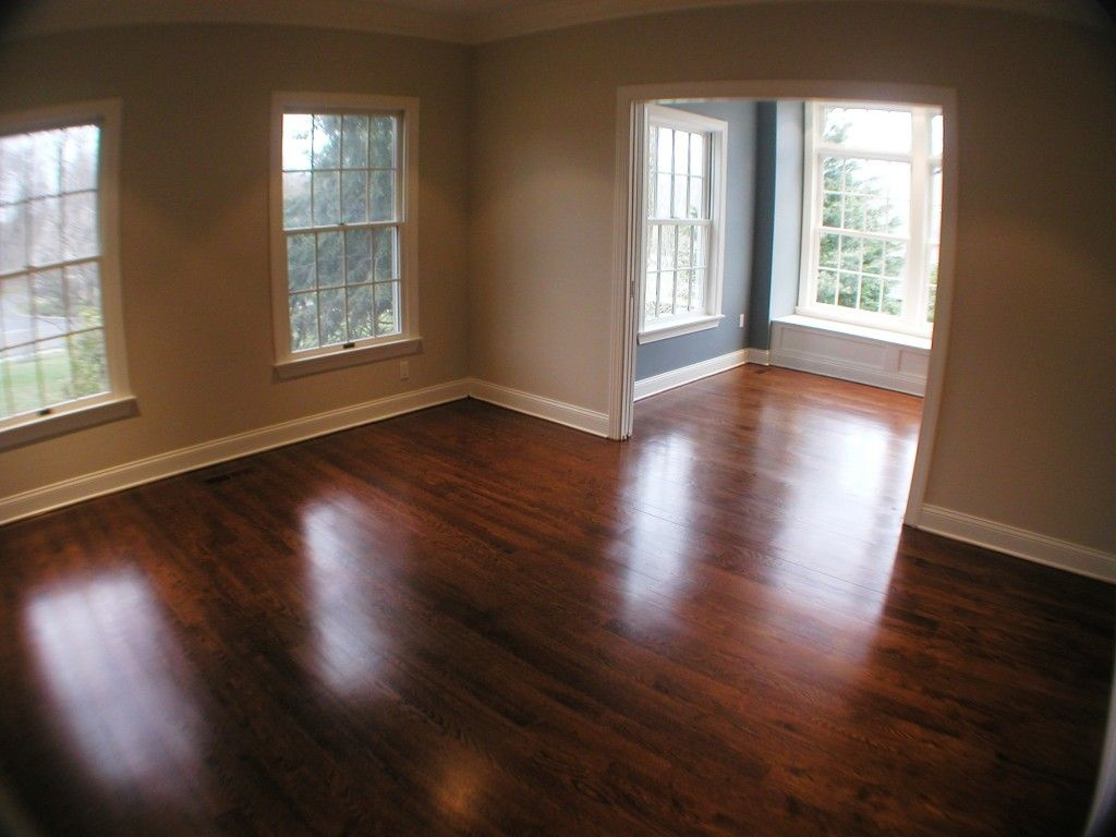 Image of refinished oak wood floor chatham nj hardwood floors