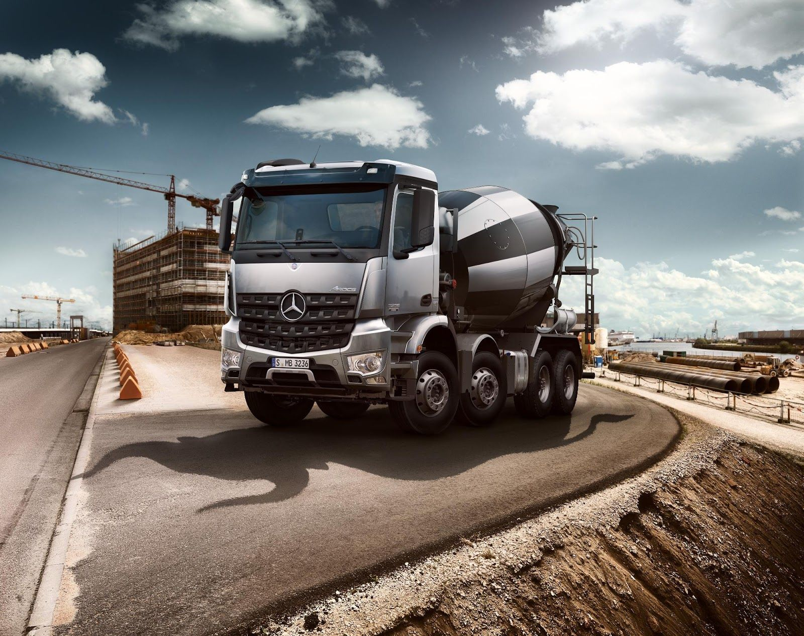 in arocs benz exterior interior youtube tipper watch price mercedes truck and