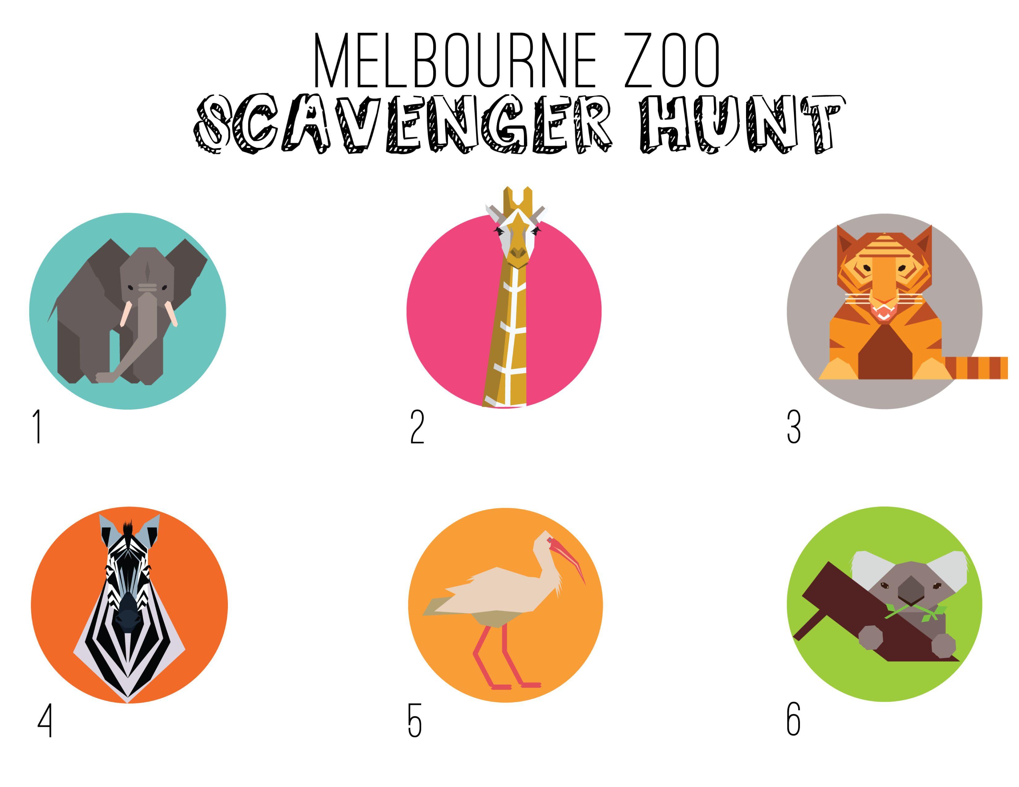 Melbourne Zoo Scavengerhunt Activities For Kids E S C A P E