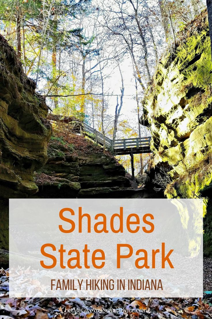 Family Hiking at Shades State Park in Indiana | National and