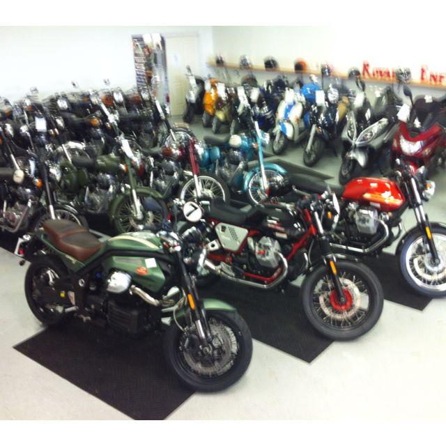 Moto Guzzi in the house at www.clevelandmoto.com