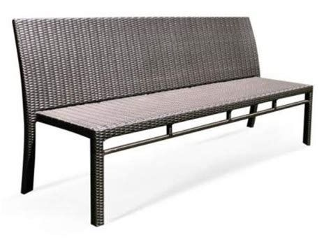 Banquette 2 places en rotin Kubu clair | Outdoor sofa ...