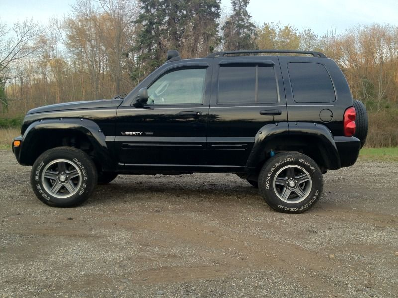 Pics Of 2 Or 2 5 Lift With 235 70 Jeep Liberty Jeep Liberty Sport Jeep