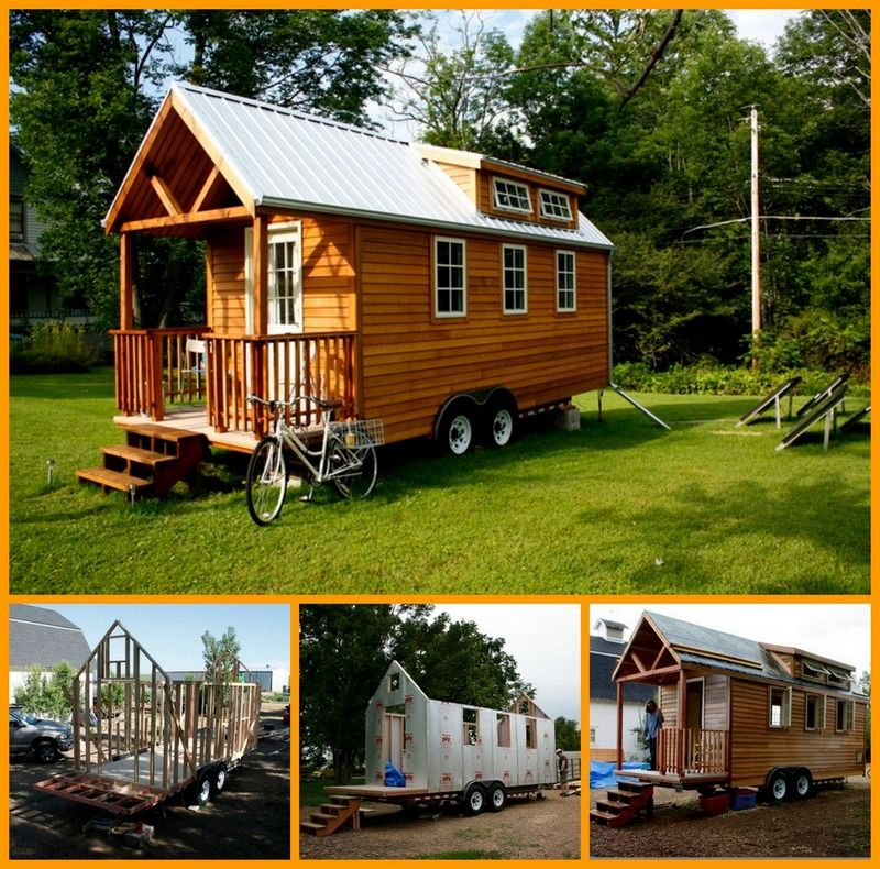 Protohaus The Owner Builder Network Trailer Home House On Wheels Tiny House On Wheels