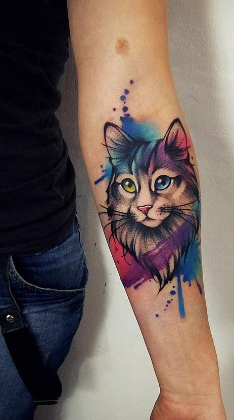 Photo of Los tatuajes de acuarela convertirán tu cuerpo en un lienzo vivo