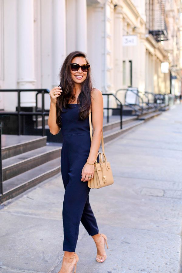Navy Blue Jumpsuit With Love From Kat Pinterest Jumpsuit Blue