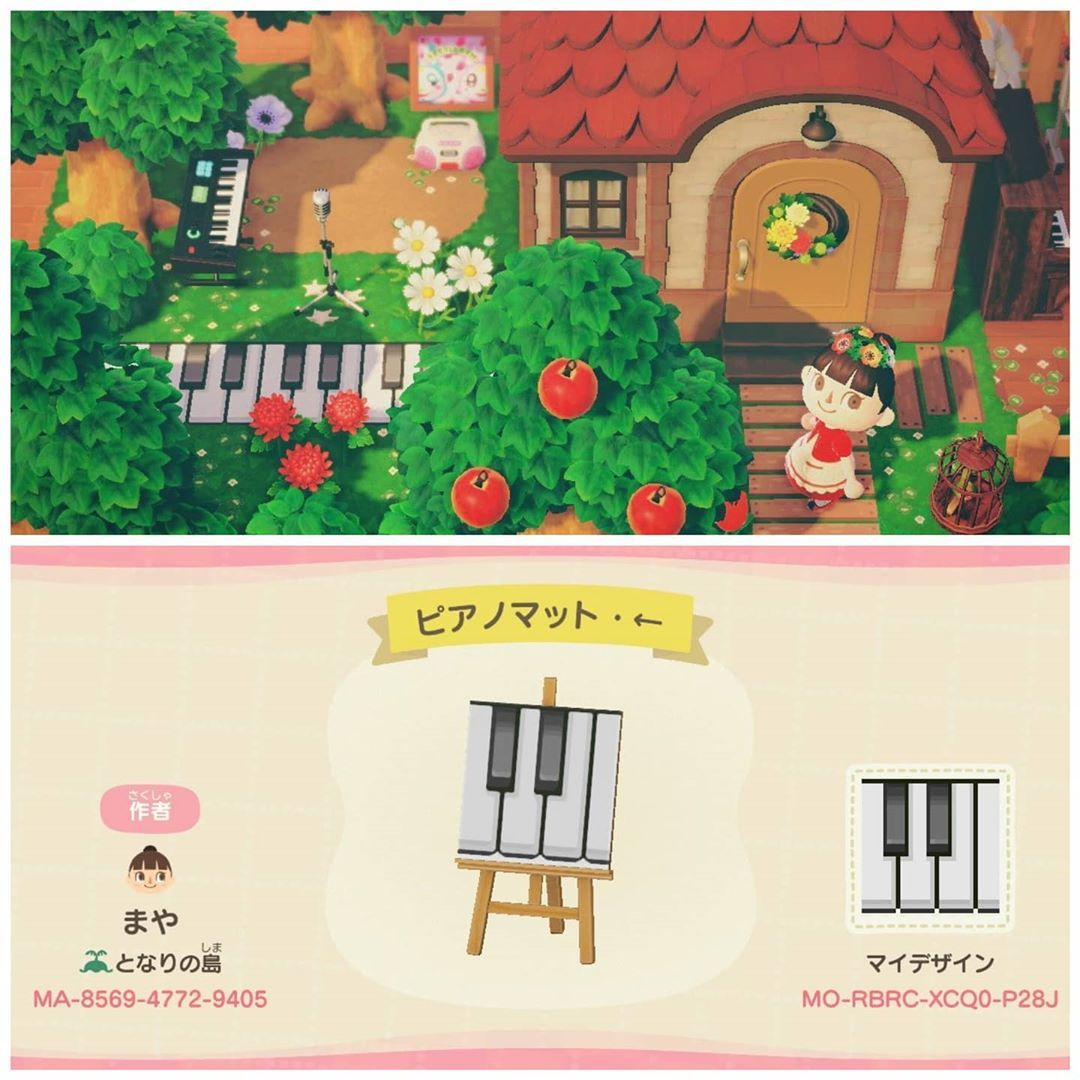 1 850 Likes 12 Comments Acnh Custom Design Codes Ac Customdesigns On Instagram How About Piano K New Animal Crossing Animal Crossing Animal Crossing Qr