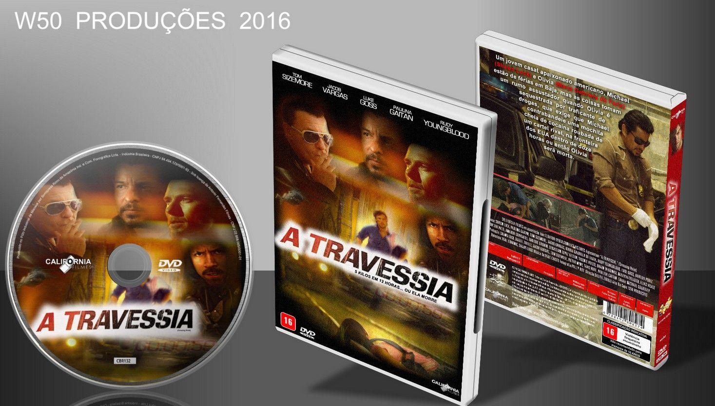 A Travessia - DVD 3 - ➨ Vitrine - Galeria De Capas - MundoNet | Capas & Labels Customizados