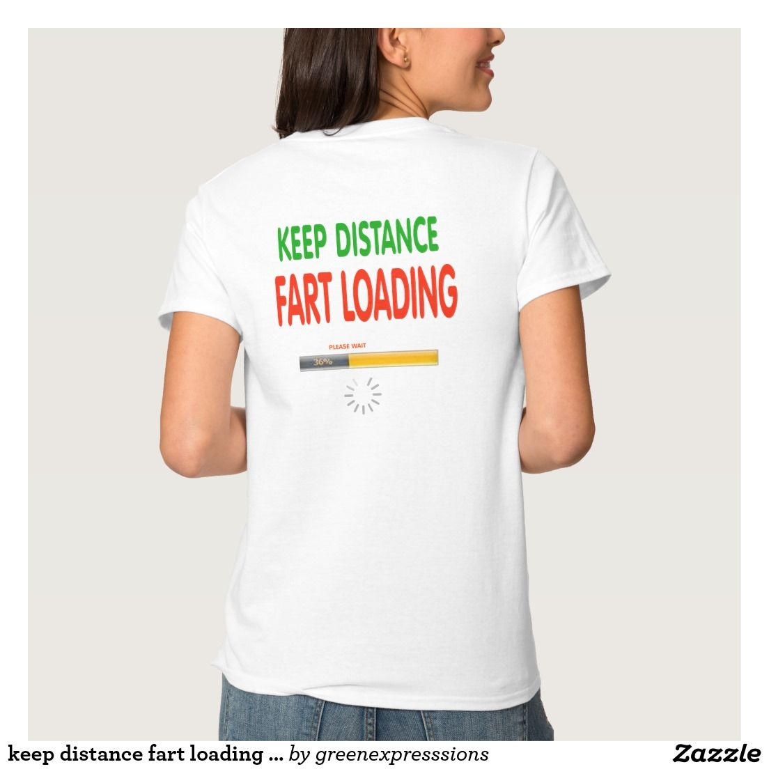 03b704c2 keep distance fart loading funny t-shirt design pinned with thanks from  http:/