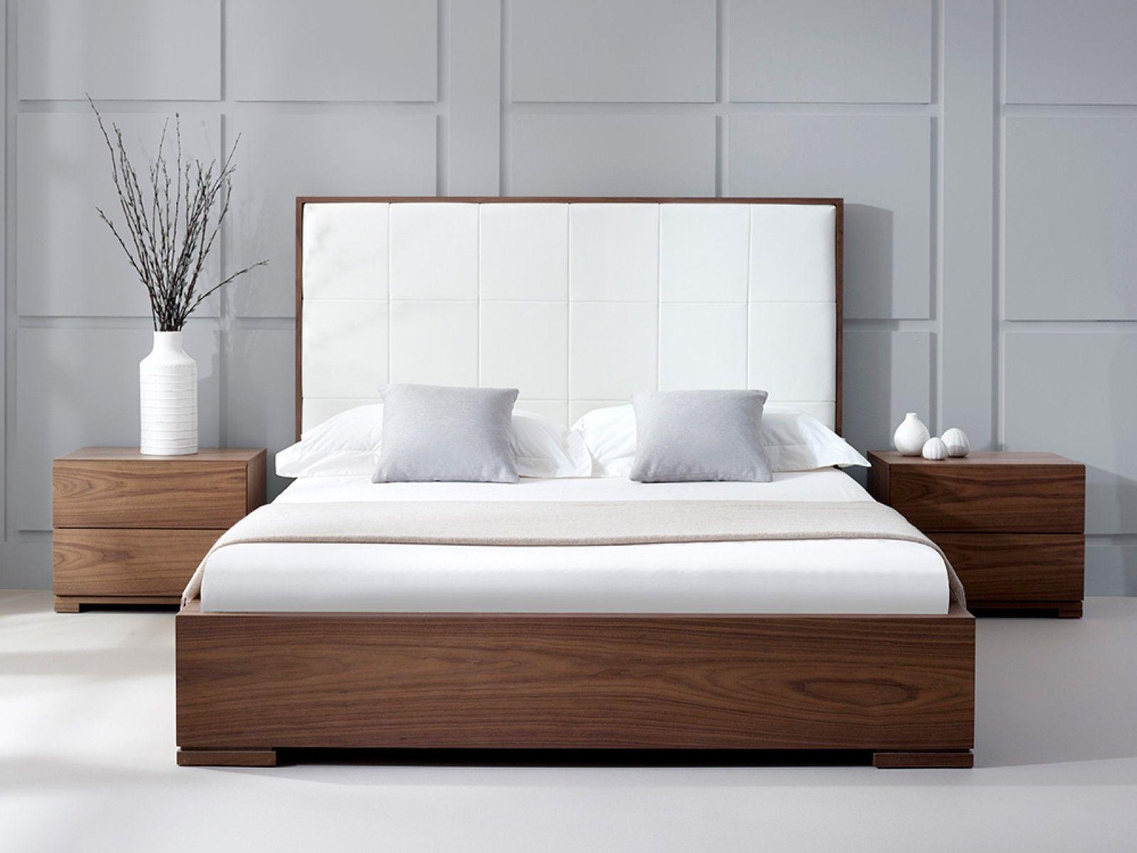 Bella Natural Walnut Bed Bathroom Mirrors In 2019 Modern