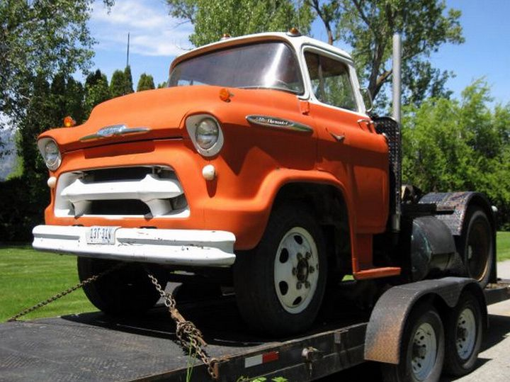 Weekend Edition A 1957 Chevrolet Snub Nosed Truck On Craigslist