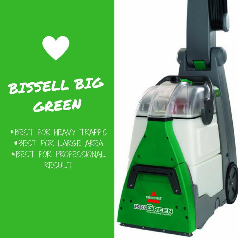 Big Green Machine Professional Carpet Cleaner Carpet