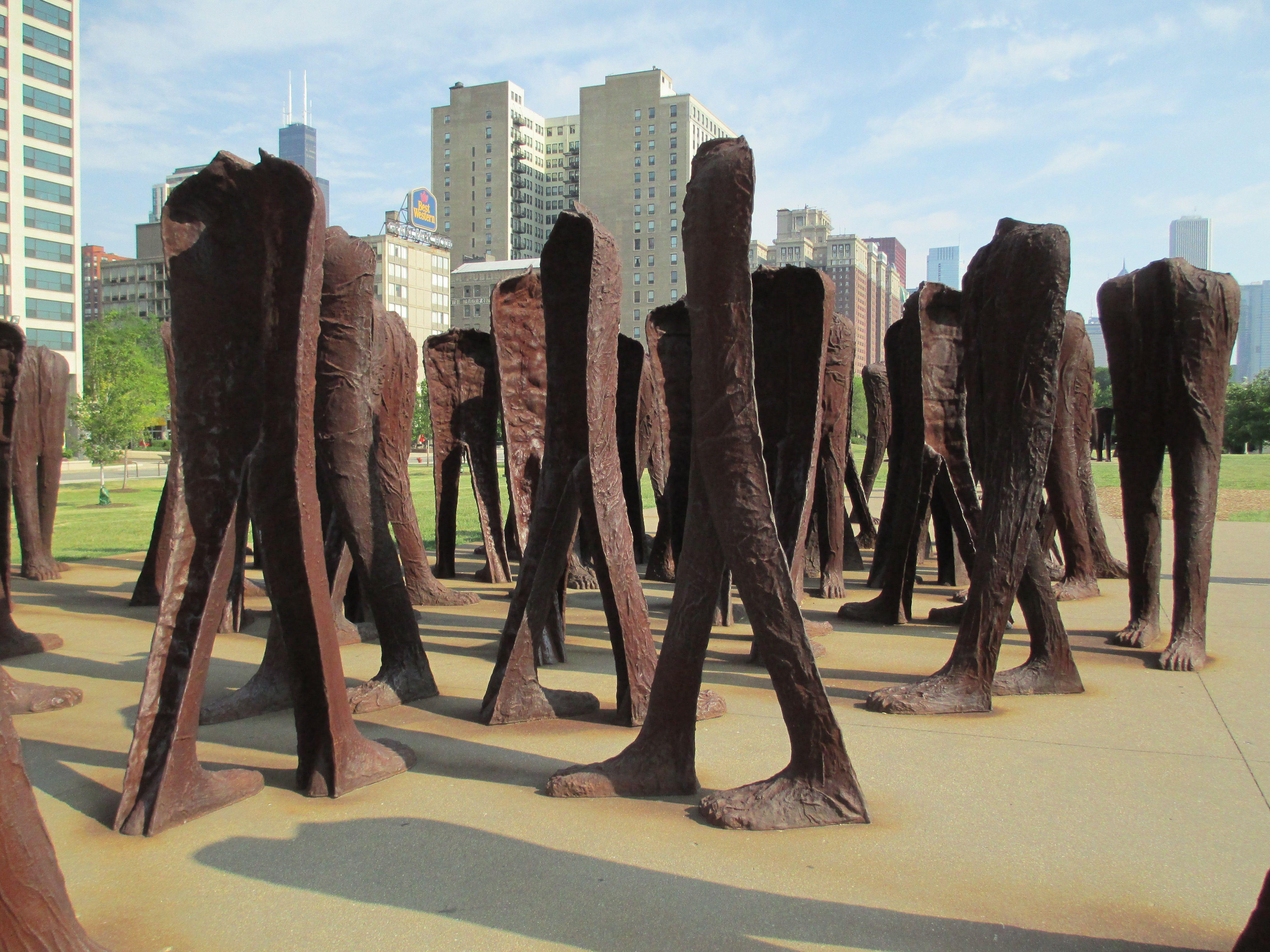 Chicago outdoor sculpture outdoor gardens outdoor