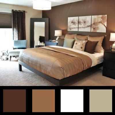 La couleur dans la chambre parentale - (page 21) - Déco en nuances ...
