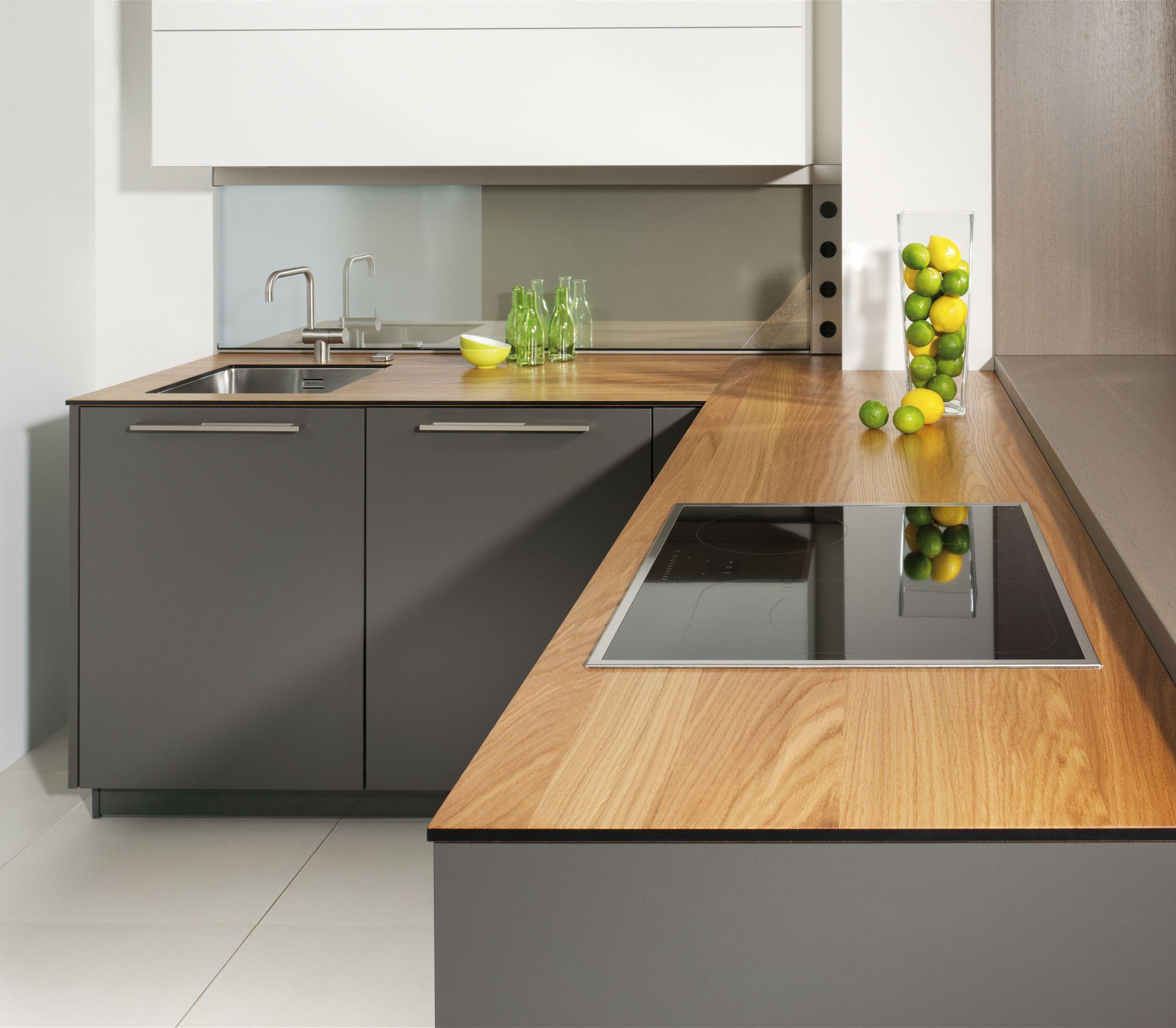 küche arbeitsplatte eiche - Google-Suche … | projekat kuhinja | Pinte…