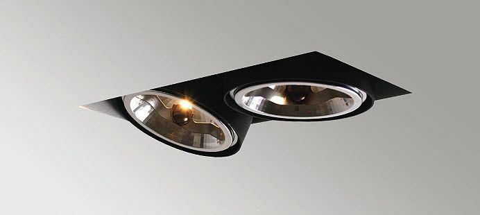 TITAN BOX - Spot de plafond / à led / rectangulaire / en ...