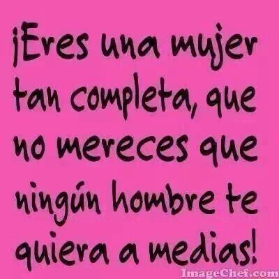 Mujer completa.