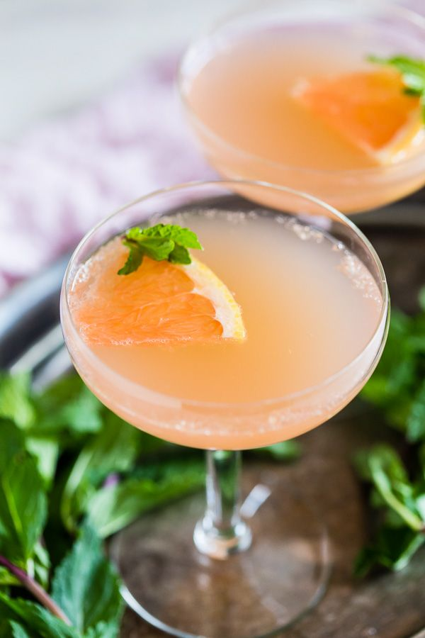 This grapefruit Campari rose water cocktail is your new ...