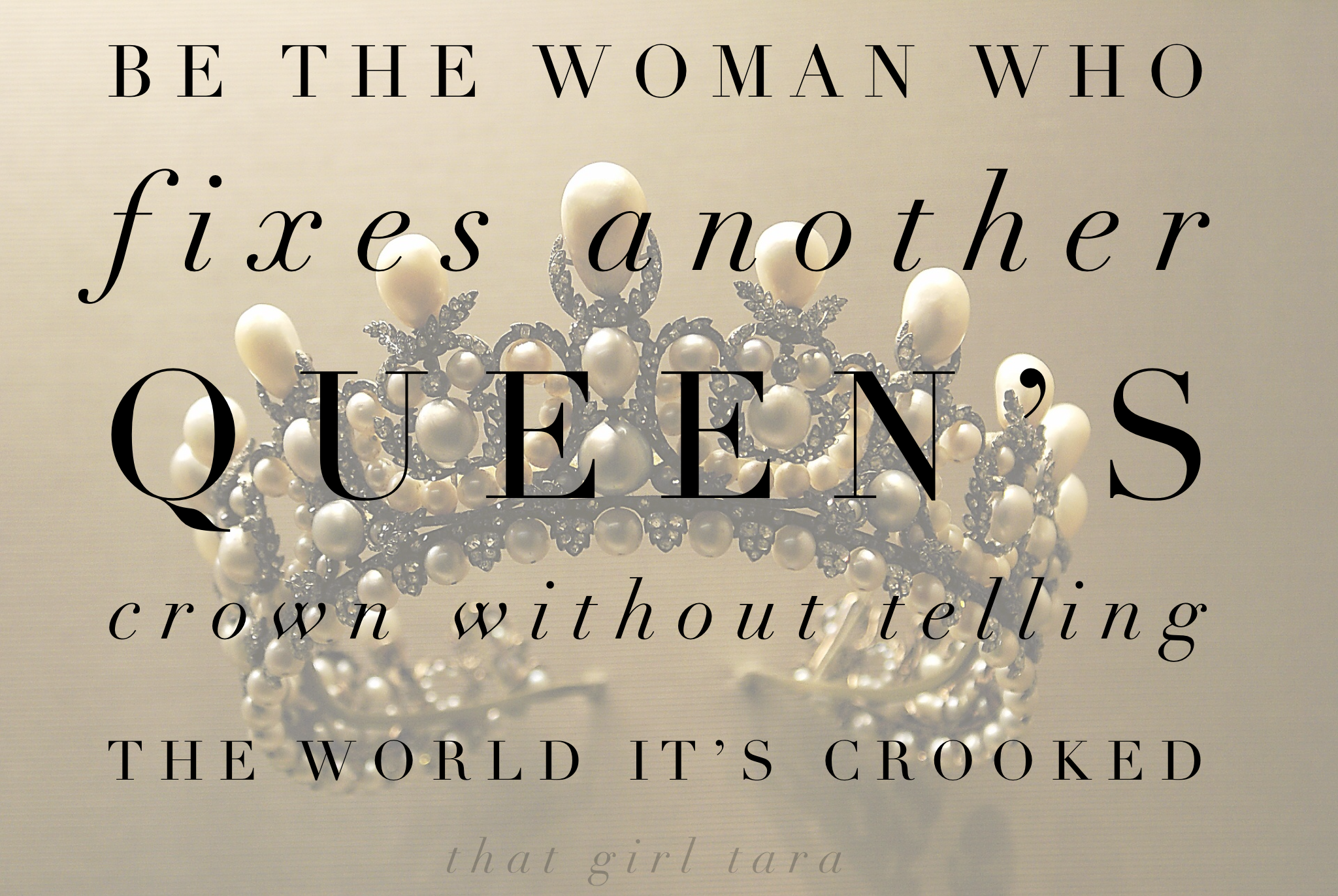 Image result for adjust her crown without her knowing