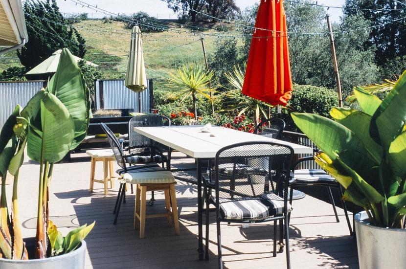 Ideas para la decoración de terrazas - decoracion de terrazas con plantas