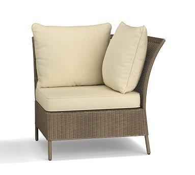 georgia corner cushion slipcover sunbrella 0174 linen sand rh uk pinterest com
