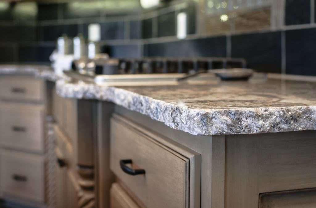 Chiseled Edge Outdoor Kitchen Countertops Countertops Kitchen