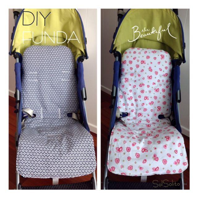 978521010 Patrón de funda silla Maclaren. Mantendremos siempre en perfecto estado la  silla, son reversibles y conseguiremos una silla personalizada a nuestro  gusto.