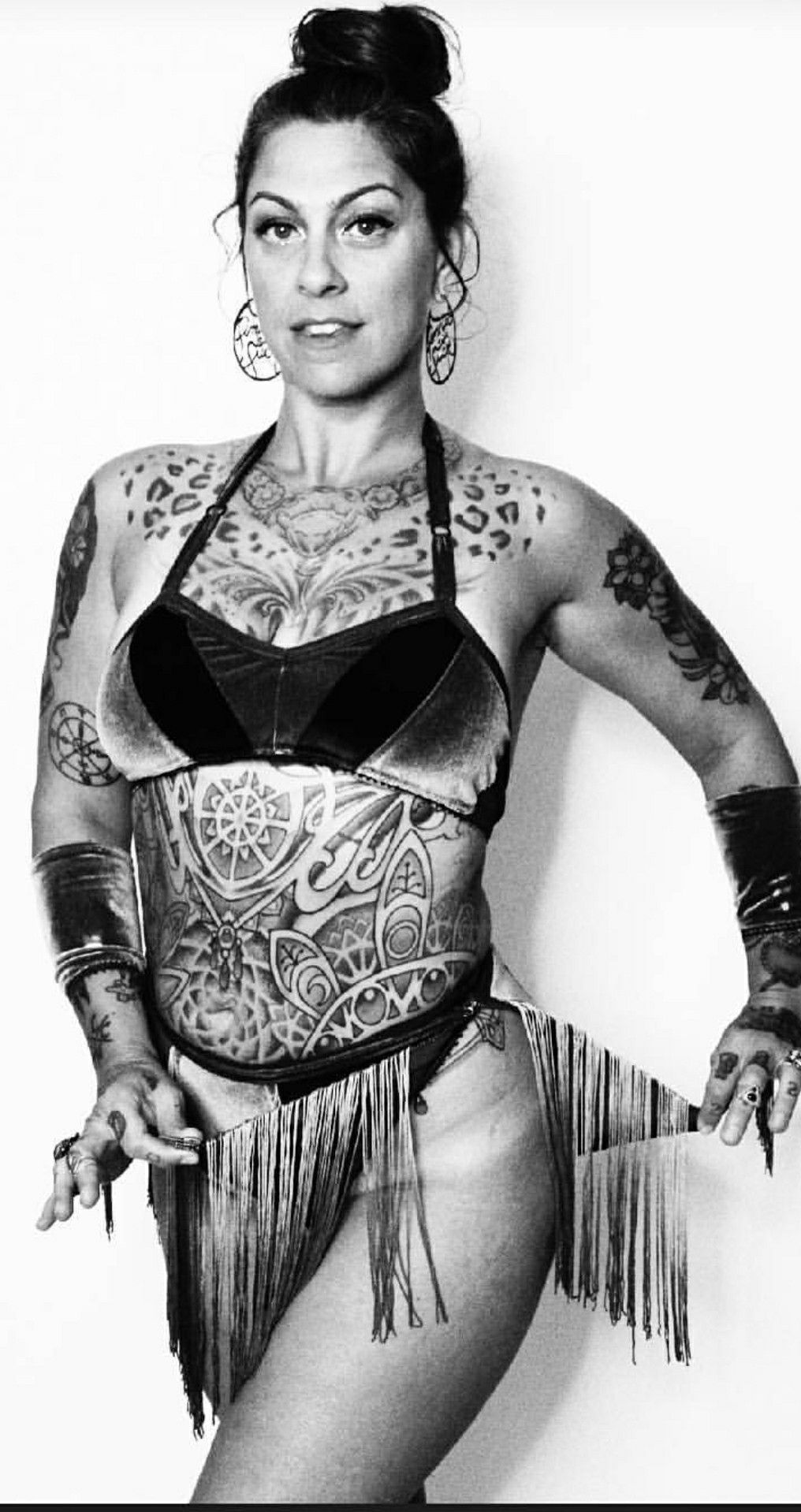 Tattoos of Danielle Colby