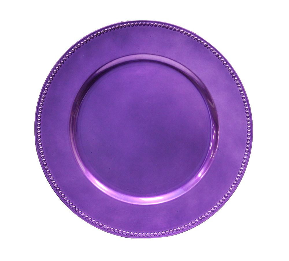 Charger plates (for under disposable plates)?  sc 1 st  Pinterest & Beaded Round 13\