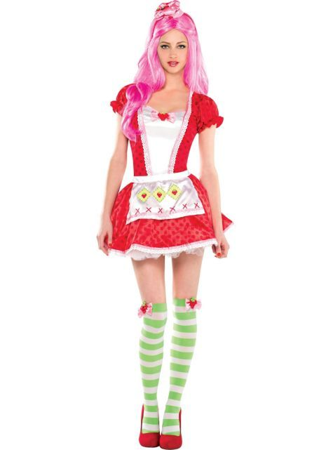 Adult Strawberry Shortcake Costume - Party City Costume Ideas - party city store costumes