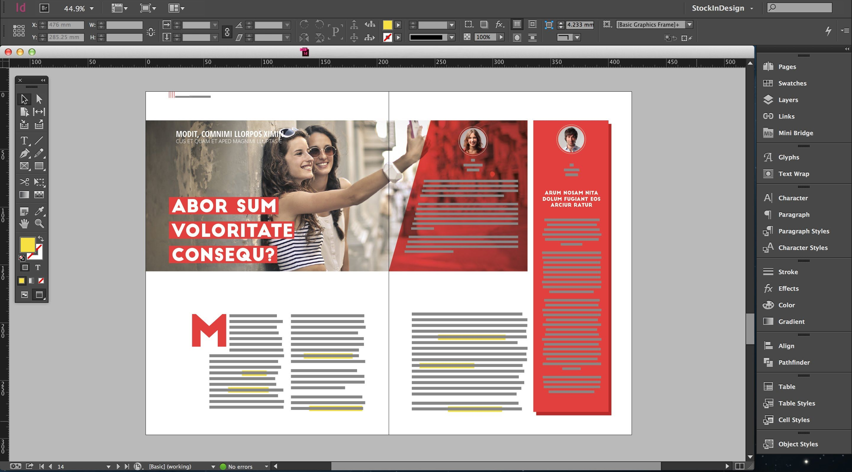 indesign magazine - Google zoeken | Design layout | Pinterest