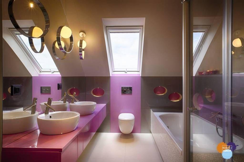 Ванная комната в стиле модерн от Studio Projektowe Projektive