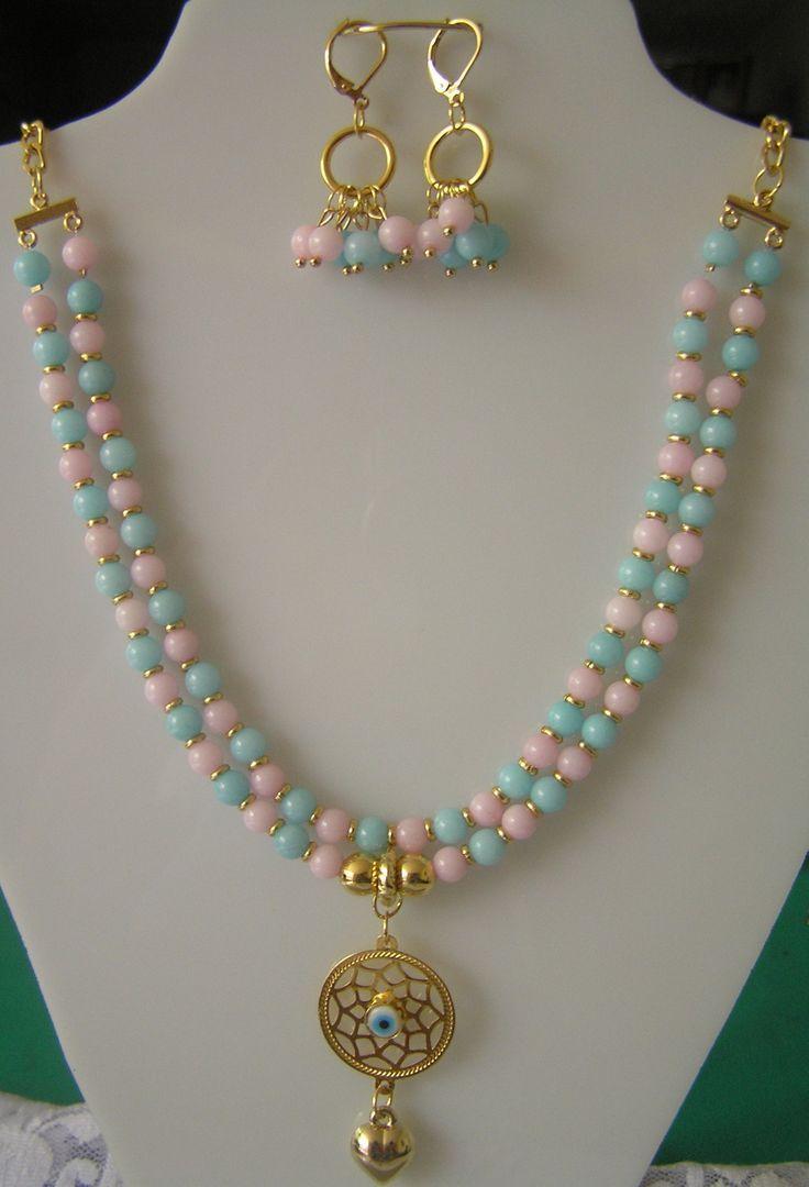 e05e10f7400f Pin de Bety Villarreal en Collares perlas y más