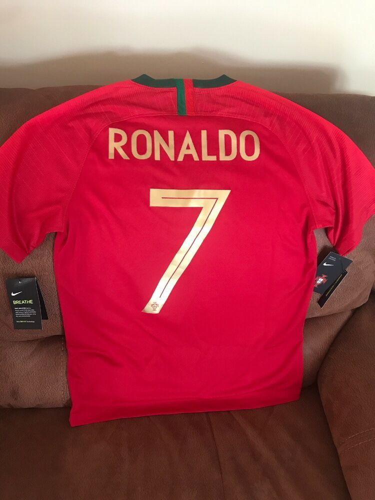 new product 5ff69 6db5b Details about Nike Portugal Nations League FINALS GAME ...