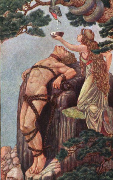 Image of loki punishment