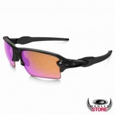 633f56a8ba Fake Oakley Flak Jacket XLJ Sunglasses Polished Black   Prizm Trail ...