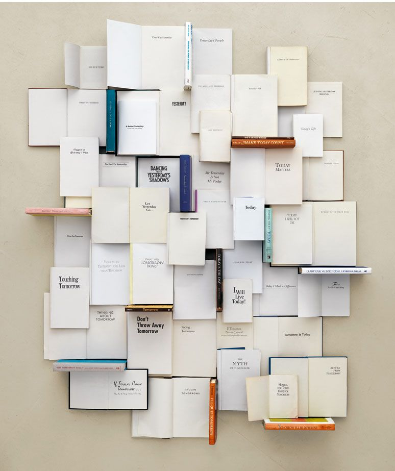 Kent Rogowski Such An Interesting Installation Exploration Of Self Help Books Book Installation Book Wall Book Art