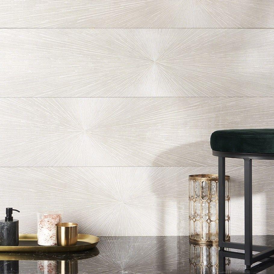 Twilight Star White 12x48 Metal Look Porcelain Tile In 2020 Metallic Backsplash Metal Backsplash Kitchen Porcelain Tile