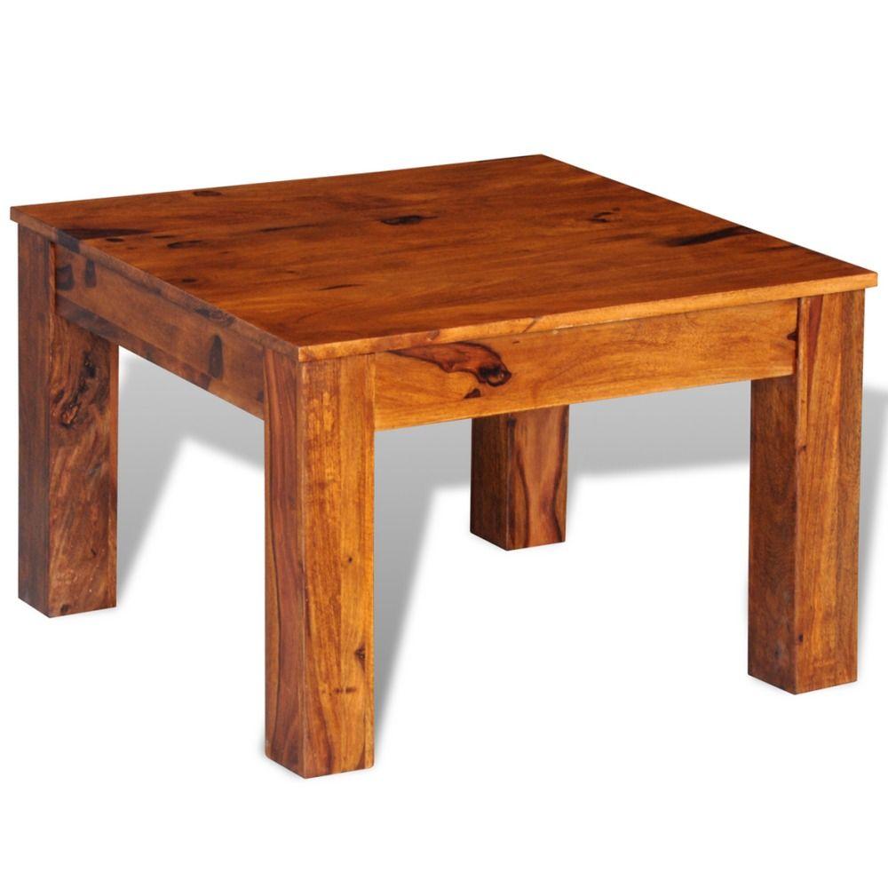Wooden Coffee Table Living Room Home Furniture Sheesham Solid Wood Square New Salongbord Diy Salongbord Kaffebord [ 1000 x 1000 Pixel ]