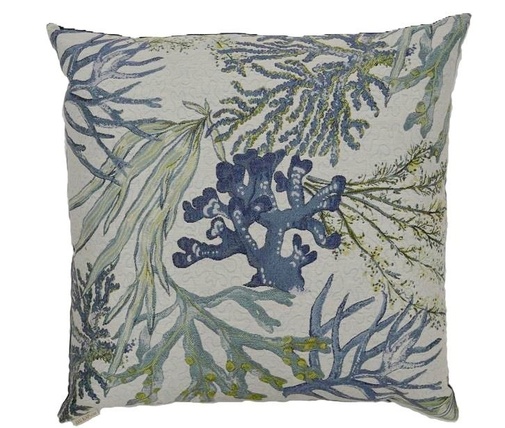 Blue Reef Beach House Pillow