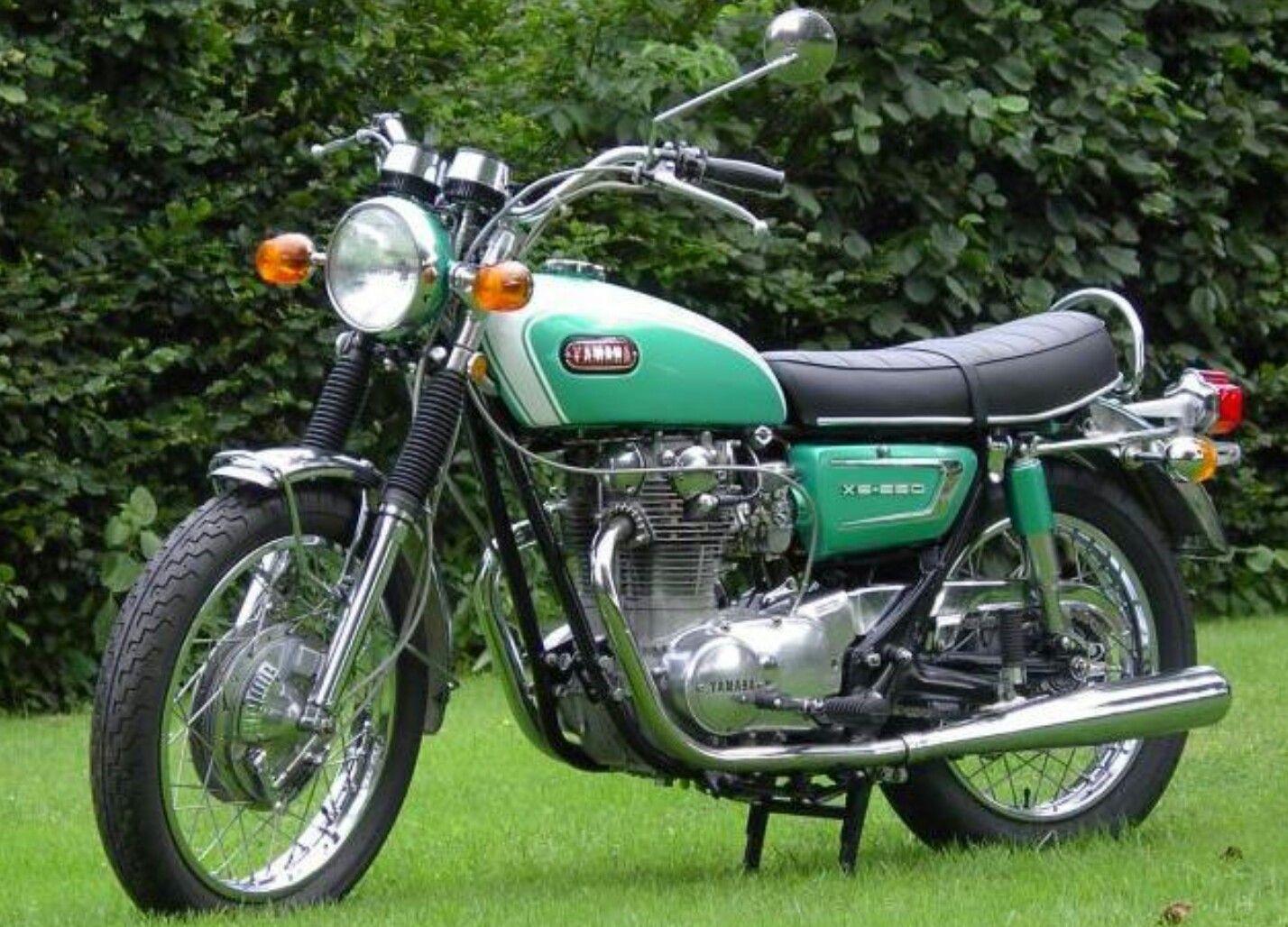1970 XS 650 XS1 Candy Green | Yamaha motorcycles ...