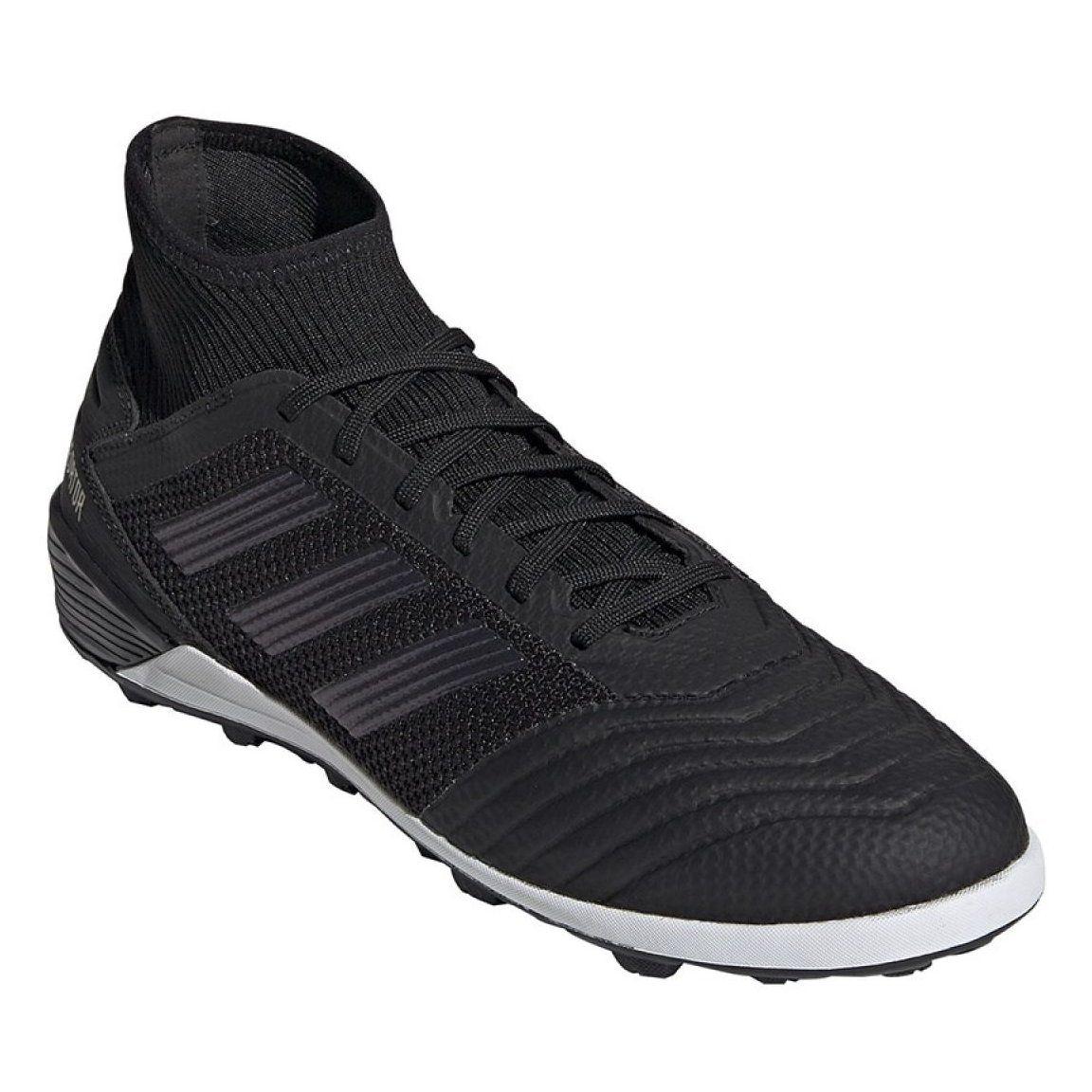Buty Pilkarskie Adidas Predator 19 3 Tf M F35627 Czarne Czarne Football Boots Adidas Sneakers Adidas