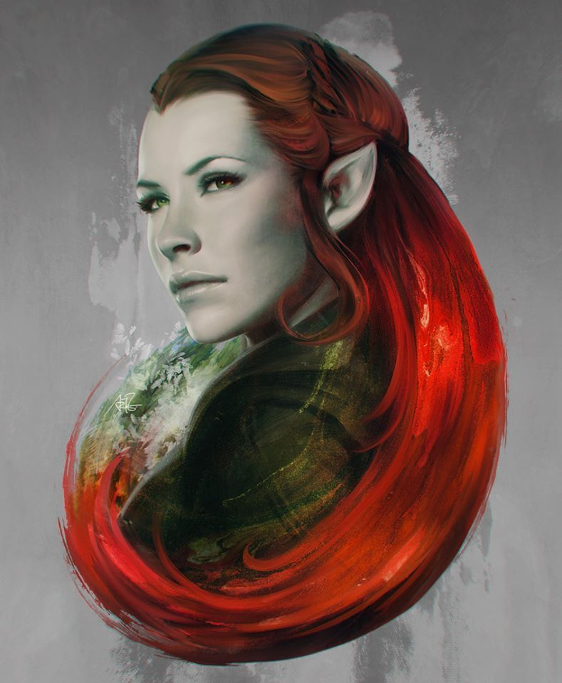 The Forest Daughter  Tauriel by Artgerm