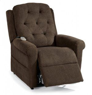 190055 In By Flexsteel In Plymouth Wi Dora Fabric Lift Recliner