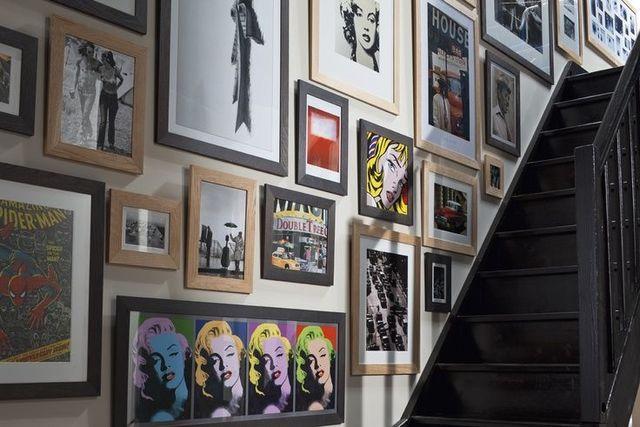 Deco murale  photo, tableau, télé, les murs parlent de moi Salons