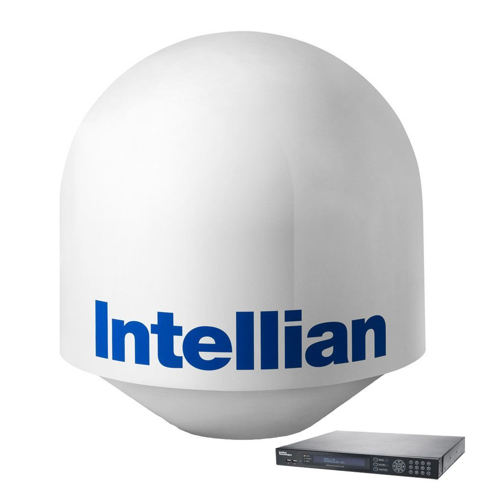 "Intellian T110W Global System w/41.3"" Reflector & WorldView LNB"