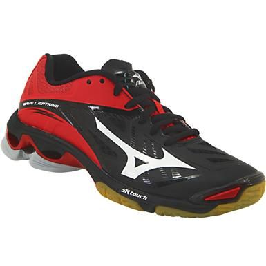 412a93b9ef9d Mizuno Wave Lightning Z2 Volleyball Shoes - Womens Black White Red